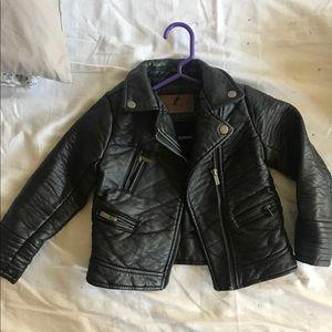 Zara kids biker jacket